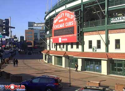 Wrigley Field Live Video Webcam